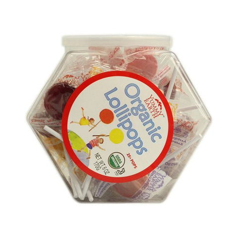 Yummy Earth Organic Lollipops Personal Bin - 6 Oz
