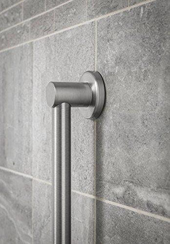 Moen YG0418BN Align 18-Inch Modern Designer Grab Bar, Brushed Nickel