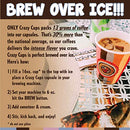 Image of Crazy Cups Flavored Coffee For Keurig K Cup Machines, Death By Chocolate, Hot Or Iced Drinks, 22 Sin