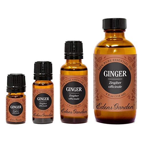 Edens Garden Ginger Essential Oil, 100% Pure Therapeutic Grade (Highest Quality Aromatherapy Oils- Digestion & Inflammation), 10 ml