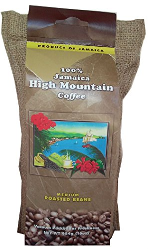 Jamaica High Mountain Coffee Beans (16oz)