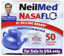 Image of NeilMed NasaFlo Unbreakable Neti Pot with 50 Premixed Packets