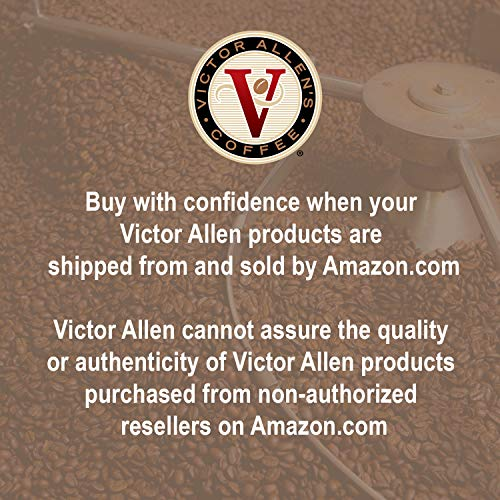 French Roast For K Cup Keurig 2.0 Brewers, 42 Count, Victor Allen's Coffee Dark Roast Single Serve C