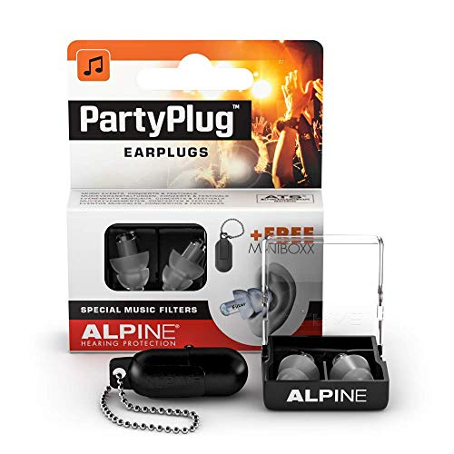 Alpine Party Plug Music Ear Plugs â?? Noise Reduction Ear Plugs For Concerts, Parties And Festivals