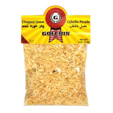 Golchin Chopped Onion, 3pk