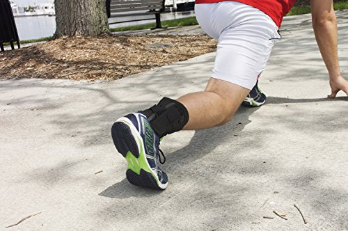 Venom Ankle Brace Neoprene Lace Up Compression Sleeve - Elastic Support & Adjustable Stabilizers, Sprained Foot, Tendonitis, Basketball, Volleyball, Soccer, MMA, Running, Sports, Men, Women (Small)