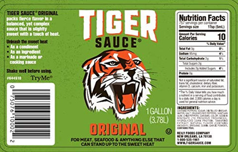 Try Me Sauce, Tiger Sauce, 1 gallon Foodservice