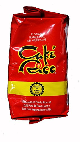 Cafe Rico Ground Coffee From Puerto Rico 14 Ounces 6 Pack Molido