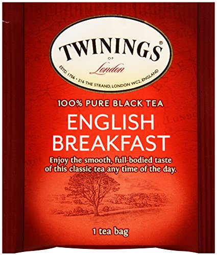 Twinings of London English Breakfast Tea, 20 Count (Pack of 6)