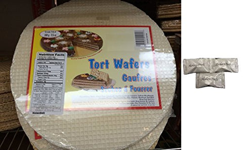 (Pack of 2) Tort Wafers 100g/ 3.50z. Includes Exclusive HolanDeli Chocolate Mints.