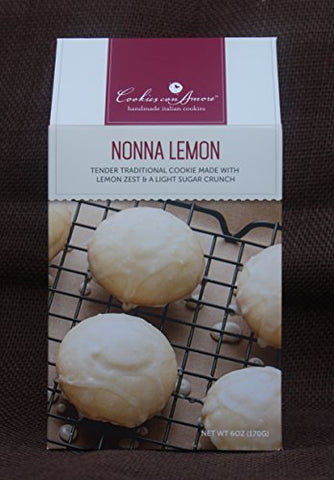 Traditional Nonna Lemon Cookie, 6pk of 6oz