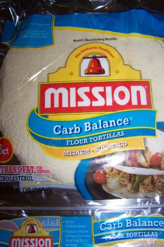 Mission Lo Carb Soft Taco 12oz (5 packages)