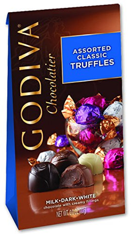 Godiva Chocolate Assorted Classic Truffles