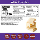 Image of think! (thinkThin) High Protein Bars - White Chocolate, 20g Protein, 0g Sugar, No Artificial Sweeteners, Gluten Free, GMO Free, 2.1 oz bar (10 Count - packaging may vary)