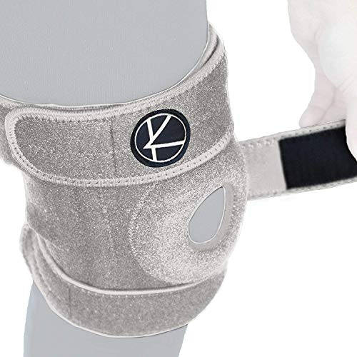 Adjustable Knee Brace Support   Plus Size Knee Brace For Acl, Mcl, Lcl, Sports, Meniscus Tear. Open