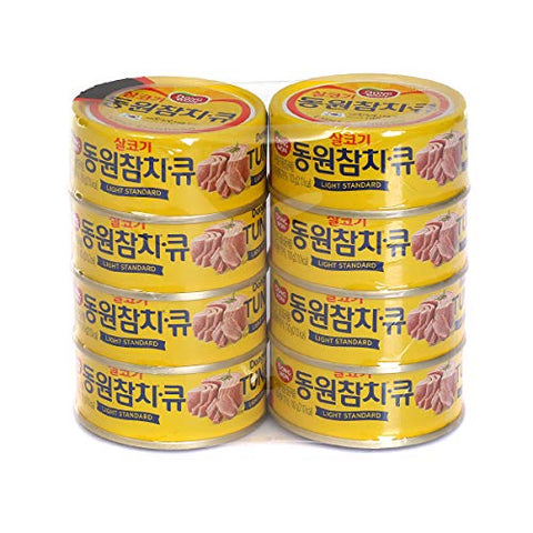 Dongwon Q - Light Standard Tuna, 100g (Pack of 8) / ?? ??