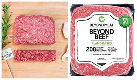 Beyond Meat (Plant Based Ground Beef), Vegan, No Soy, No Gluten - 16 Fl Oz | Pack of 12 (Total 12 Pound)