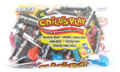 Tootsie 659804 Tootsie Roll Child's Play Assorted Bulk Pack 26 Oz. (TOO1817)