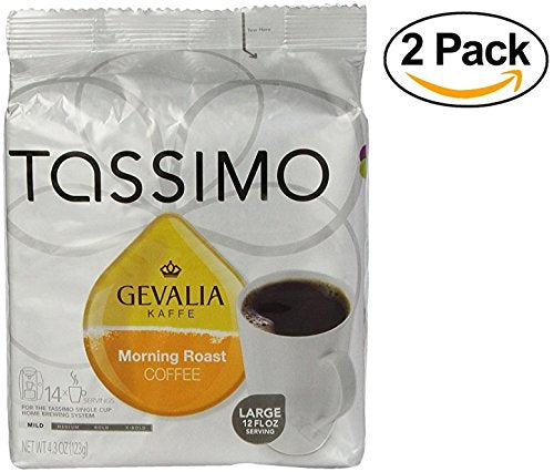 Gevalia Morning Roast Coffee Tassimo T-Disc 28 Count