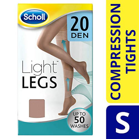 Scholl Light Legs Compression Tights 20, Den Nude, Small