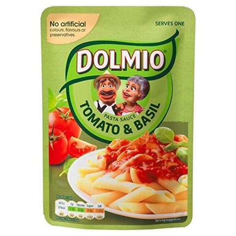 Dolmio Tomato & Basil Microwave Pasta Sauce 170g - Pack of 2