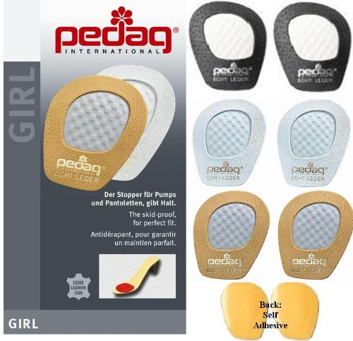 Pedag Get a Grip Forefoot Kit, Tan, Black and White