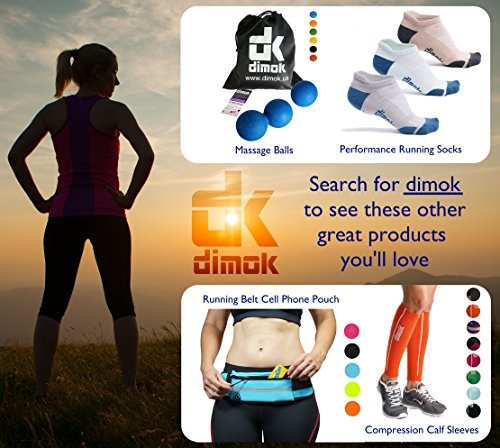 Dimok Athletic Knee Brace Compression Sleeve Leg Support For Lifting Running Crossfit Men Women Kids