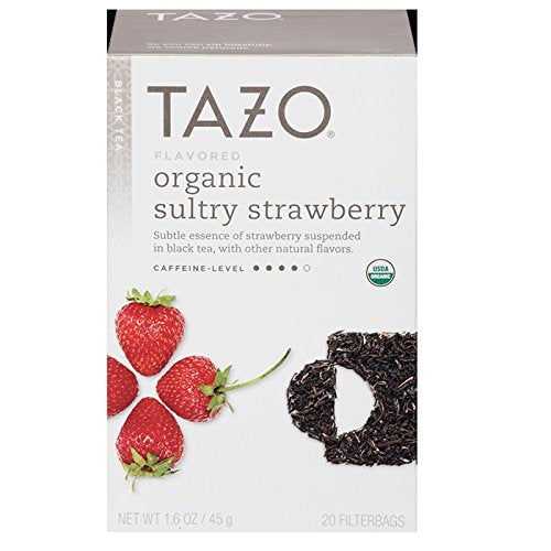 Tazo, Tea Sultry Strawberry, 20 Count
