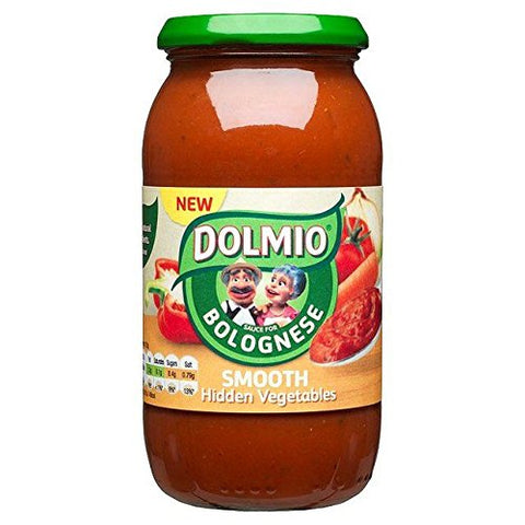 Dolmio Bolognese Smooth Vegetable Pasta Sauce - 500g