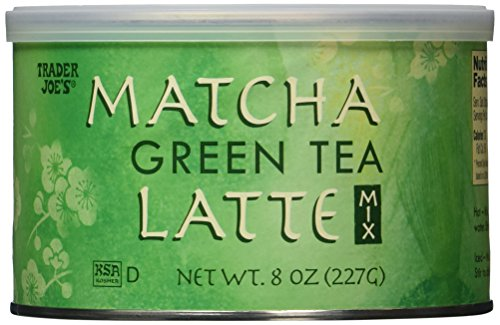 Trader Joe's Matcha Green Tea Latte 8 Oz, (2 Pack)