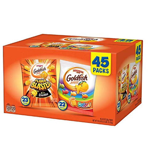 Pepperidge Farm Goldfish Variety Pack 0.9 oz., 45 ct. A1
