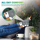 Image of Plantar Fasciitis Foot Compression Sleeves for Injury Rehab & Joint Pain. Best Ankle Brace - Instant Relief & Support for Achilles Tendonitis, Fallen Arch, Heel Spurs, Swelling & Fatigue Black Medium