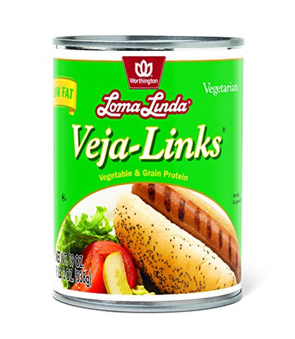 Loma Linda Low Fat Veja-Links - 19 oz. (Pack of 6)