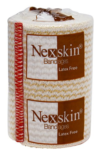 Nex Skin Elastic Compression Wrap (3� Wide, 1 Pack) With Hook And Loop Fasteners At Both Ends | Str