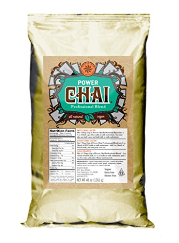 David Rio Power Chai with Matcha, 48 Ounce (Pack of 1)