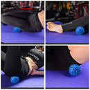 Image of Professional Massage Balls Foot Ball Foot Massager Spiky Roller for Deep Tissue Trigger Point Plantar Fasciitis Reflexology Stress Therapy Myofascial Release(Blue)