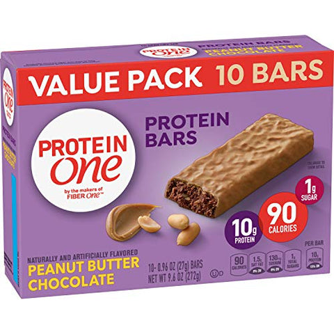 Protein One 90 Calorie, Peanut Butter Chocolate, 10 ct 9.6 oz