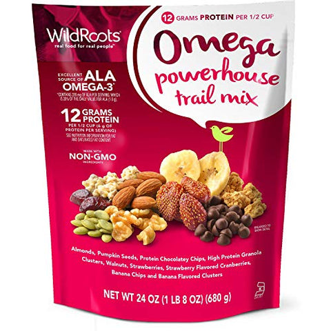 Wildroots Omega Powerhouse trail Mix 24oz