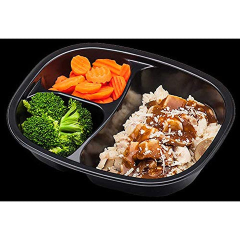 Golden Gourmet Chicken and Rice with Mushroom Sauce Mozzarella Cheese Broccoli Carrots Meal, 12.9 Ounce -- 20 per case.