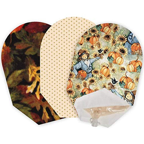 Autumn Pack of 3 Pouch Covers - Open Ended