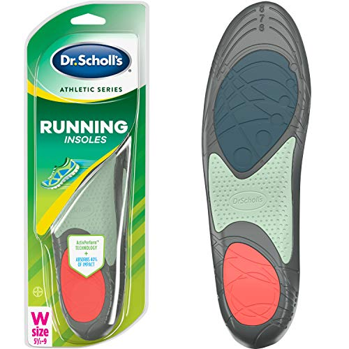 Dr. Scholl's RUNNING Insoles // Reduce Shock and Prevent Common Running Injuries: Runner's Knee, Plantar Fasciitis and Shin Splints (for Women's 5.5-9, also available for Men's 7.5-10 & Men's 10.5-14)