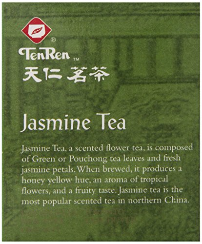 Ten Ren Jasmine Tea, 20-Count (Pack of 6)