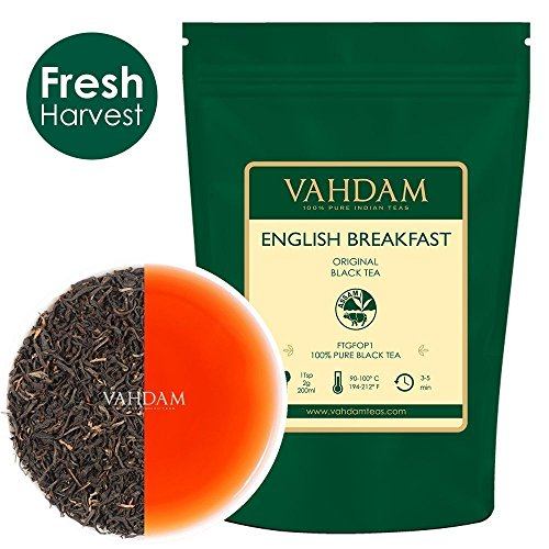 Original English Breakfast Black Tea Leaves (200+ Cups) I Strong Black Tea I Rich & Aromatic Loose L