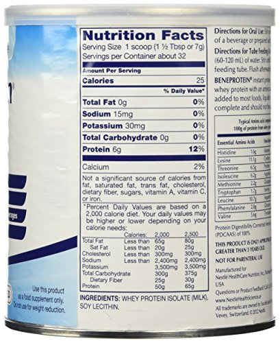 Resource Beneprotein Powder 8oz Can by Nestle Nutritional