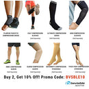 Image of BeVisible Sports Plantar Fasciitis Sock - Compression Foot Sleeves for Men & Women for Plantar Fasciitis Heel Pain Relief with Arch Support