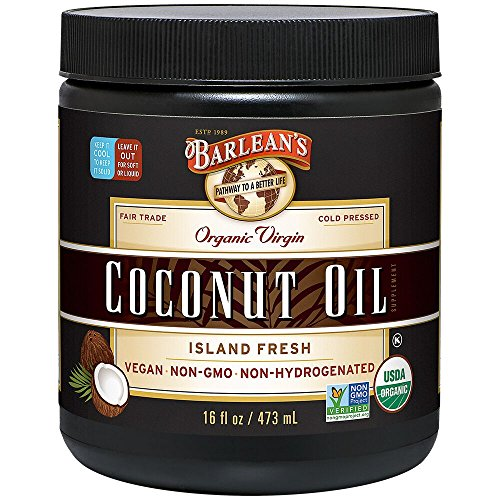 Barlean's Organic Virgin Coconut Oil, 16-oz
