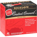 Image of Bigelow Constant Comment Black Tea Bags, 40 Count Box (Pack of 6) Caffeinated Black Tea, 240 Tea Bags Total