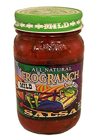 Frog Ranch Mild All Natural Salsa 16 oz. (Pack of 3)