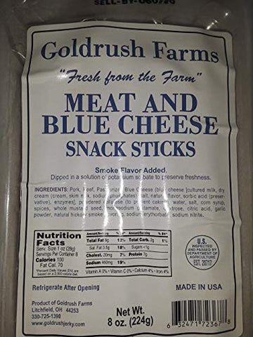Fresh From the Farm Original Snack Sticks (Meat & Blue Cheese)
