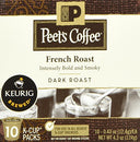 Image of Peet's Coffee French Roast - 5 Boxes of Single Cups